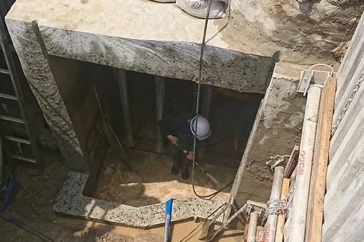 現場パトロール~ダイヤモンドを利用したコンクリート切断工法~
