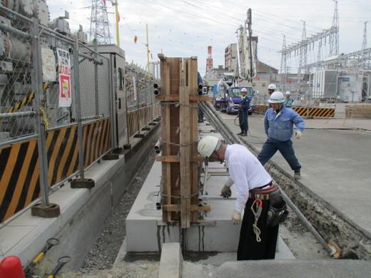現場パトロール~コンクリート打設は型枠工とのチーム作業!~